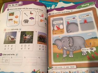 子供幼児向け英語教材画像